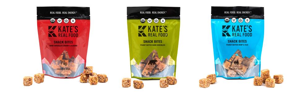 kates real food granola energy bar tram healthy coconut chocolate peanut butter lemon mango oats