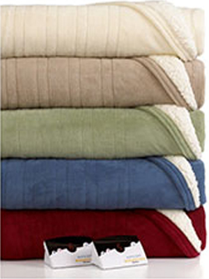 Pure Warmth Electric Heated Blanket