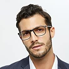 OCCI CHIARI Blue Light Blocking Reading Glasses Men Computer Readers 0 1.0 1.5 2.0 2.5 3.0 3.5 4.0