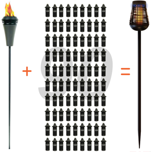 torch use versus insect killer torch