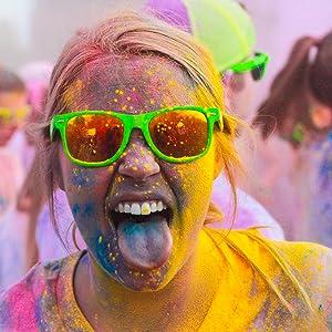 color powder fun run summer school activity holi paint war