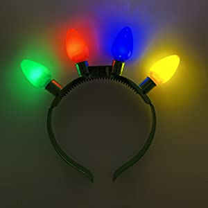 hairband bulb colorful