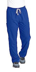 model wearing Men's Grey's Anatomy Modern Fit Cargo Scrub Pant