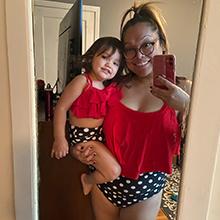 Women Plus Size High Waisted Two Piece Bikini Set Ruffle Swimsuit Bathing Suits