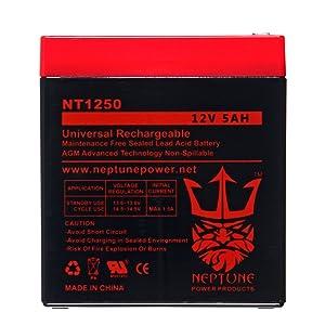 Neptune 12v 5ah sla battery