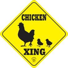 Chicken Crossing