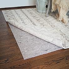 safe for floors, felt, rug pads