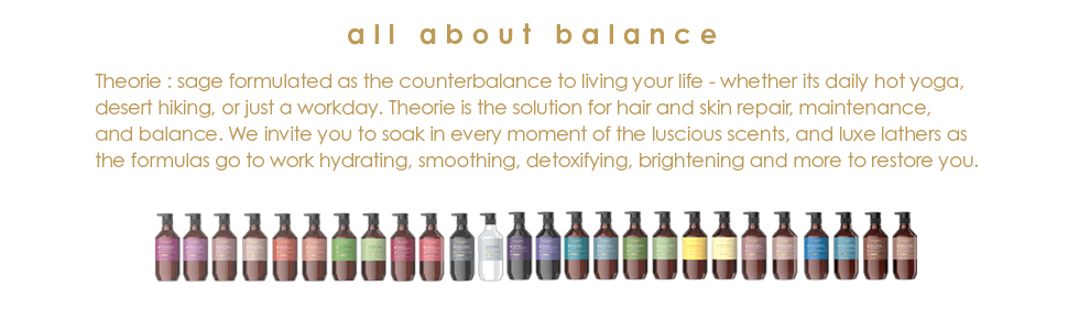 theorie is all about balance