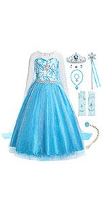 princess Elsa costume