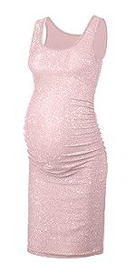 Gillter Maternity Tank Dress