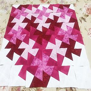 Twist 'n Stitch Pinwheel Block Ruler #775