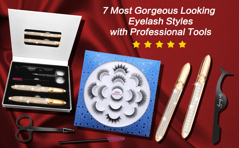 7 Most Gorgeous Looking Eyelash Styles with Professional Tools