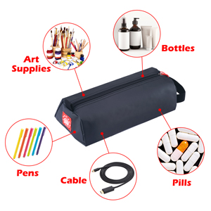 multi function edc zipper pouch use as large pencil case electronic cable organizer small tool pouch