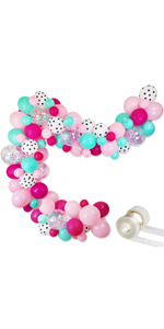 Surprise Party Decorations Balloons Garland Kit