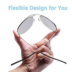 Lightweight Sunglasses for Men Women