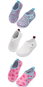 JIASUQI Summer Pool Swimming Park Athletic Water Shoes for Baby Girls Boys