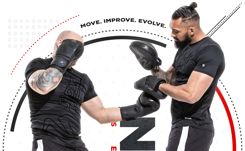 Boxing Pads and Gloves Set