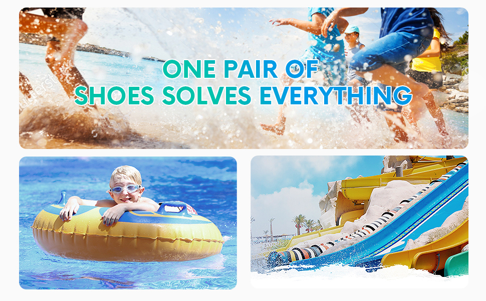 A pair of water shoes solves everything