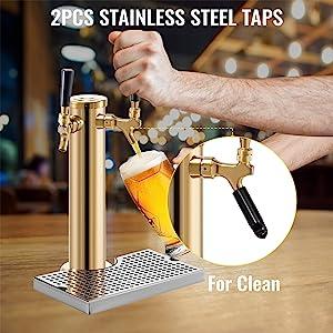 beer faucet tower