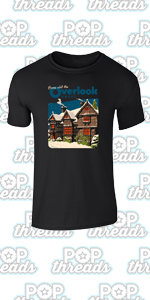 Overlook Hotel Horror Movie Makes Jack A Dull Boy Graphic Tee T-Shirt for Men