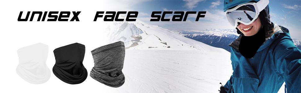 unisex face scarves