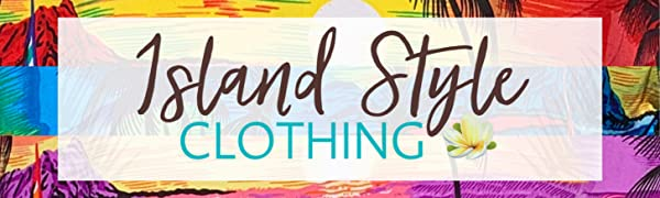 Island Style Clothing Hawaiian Resort Wear Cruise Party Specialist Group Matching Tropical Floral