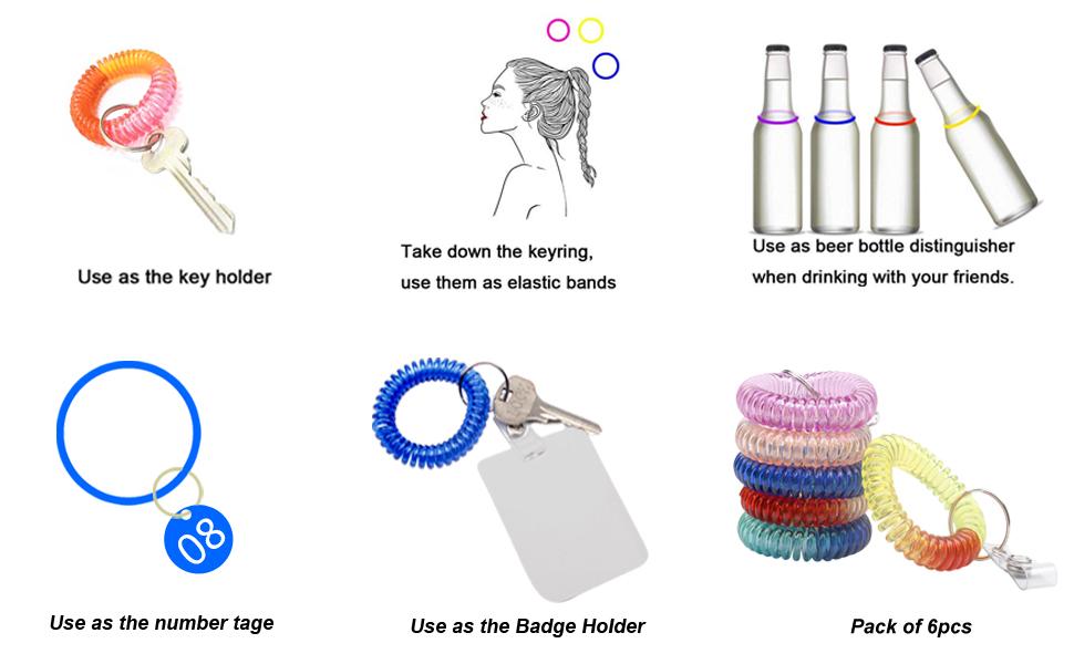 BIHRTC Plastic Coil Wrist
