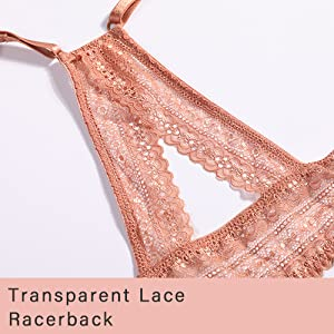 Lace racerback