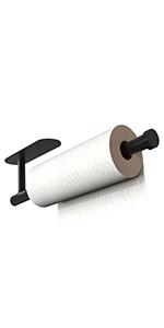 Paper Towel Holder Black