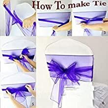 how to make chair bow