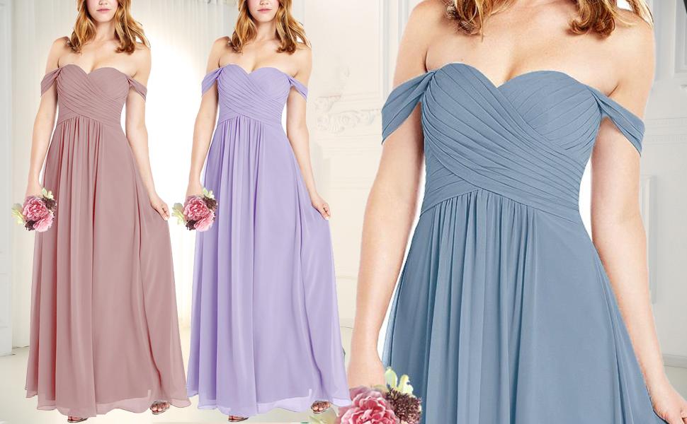Bridesmaid Dresses Long for Women