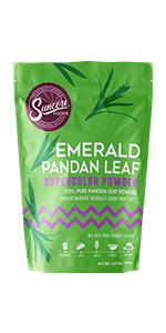 Suncore Foods Emerald Pandan Leaf Supercolor Powder