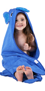 Blue Bath Towel