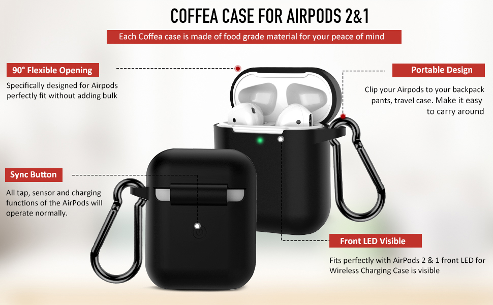 airpods case black