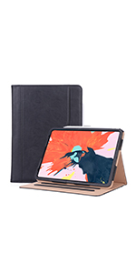 Leather Case for 2018 iPad Pro 11