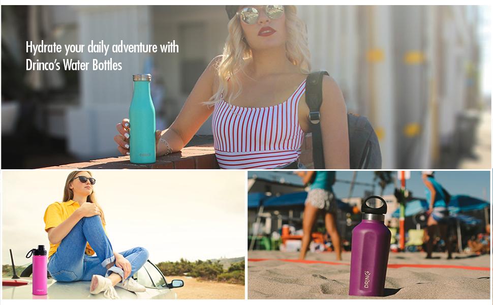 20oz water bottle, 17oz water bottle