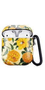 airpods case daisy yellow