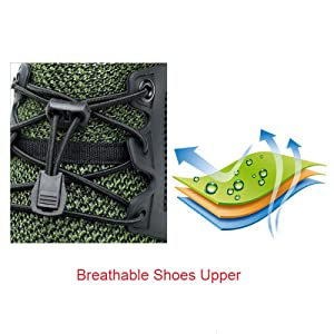 Breathble shoes upper