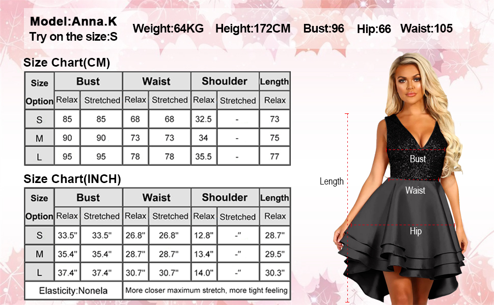 Lrady Women's Sequin Glitter Short Tulle Homecoming Dresses Prom Party Gowns