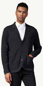cotton blended casual jacket