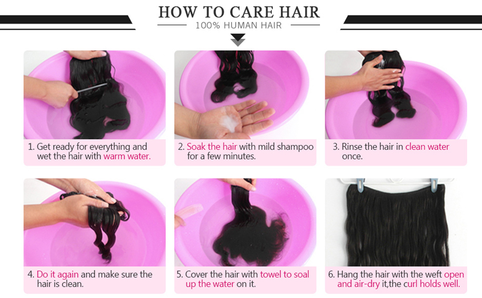 HOW TO CARE HAIR