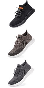 JIASUQI Outdoor Athletic Fashion Sneakers Walking Shoes for Men