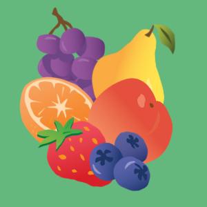 fruit plant based organic vitamin a c d antioxidant high fiber vegan delicious