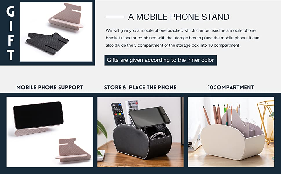 remote control holder with iPhone stand