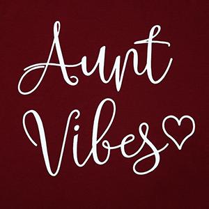 Aunt Vibes Print Tshirt