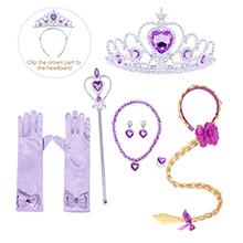 princess dress up costume headband jewelry accessories HG018+P002-1