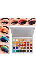 eyeshadow morphe Jacly Hill eyeshadow palette
