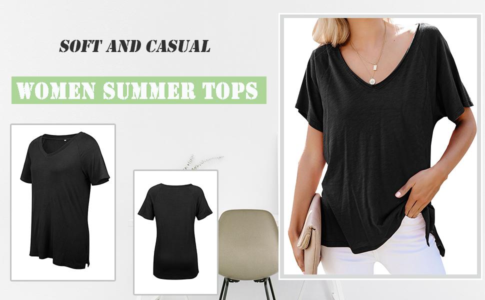 Women's Loose Summer Tops