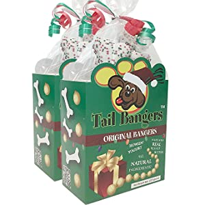 christmas dog treat