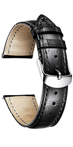 Genuine leather watch band